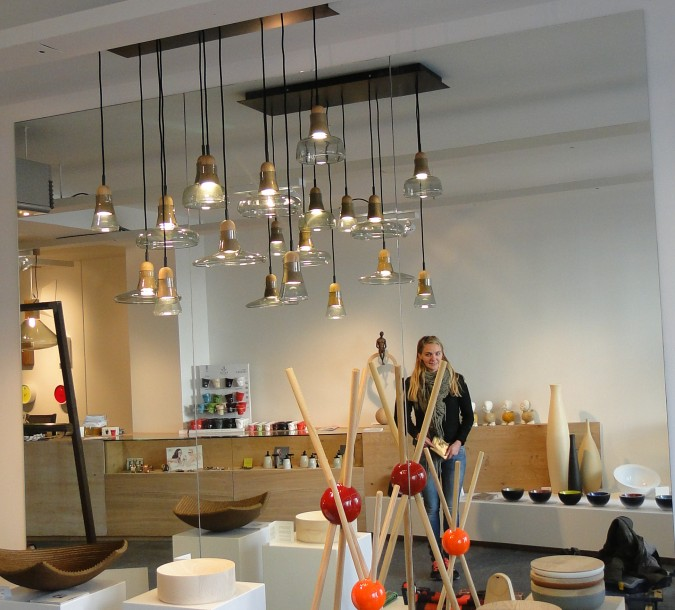 Nieuwe verlichting voor lifestylewinkel in Mortsel